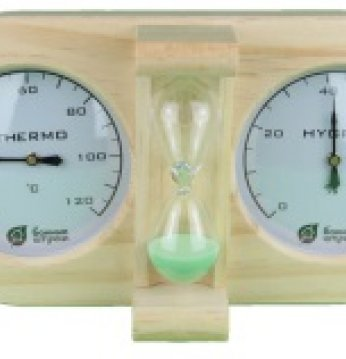 Smėlio laikrodis, termo..