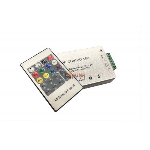 LED apšvietimo spalvų keitimo RF pultas