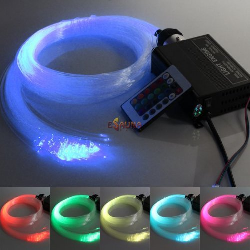 LED RGB apšvietimas Spalvotos žvaigždės