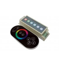 Belaidis LED RGB apšvietimo valdymo pultas RF