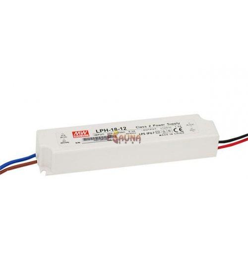 LED apgaismojuma barošanas avots LPV / H 12V