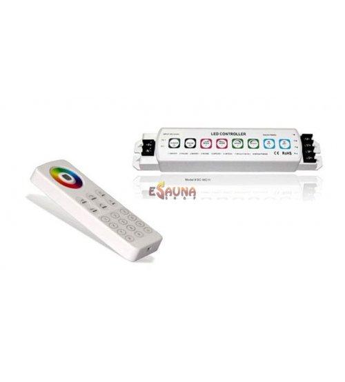 LUMINARIES RGB LED apšvietimo valdymo komplektas RF