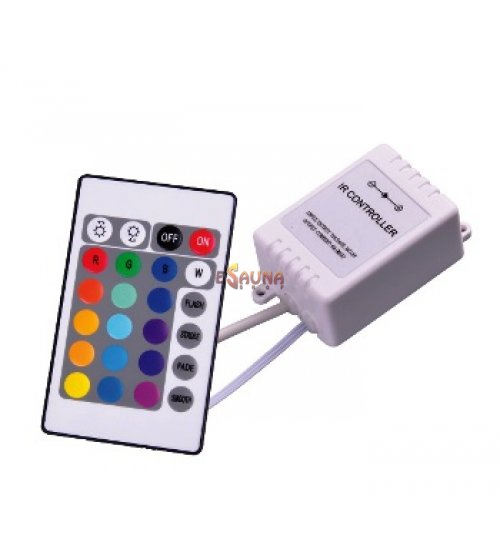 Ovládač zmeny farby LED IR