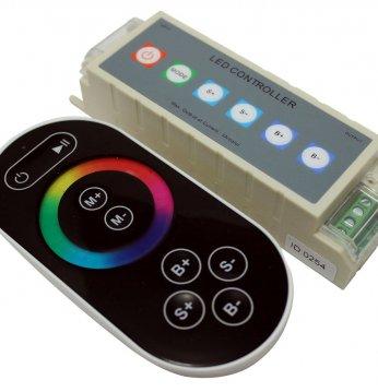 Belaidis LED RGB apšvie..