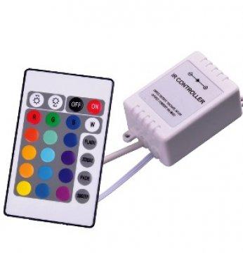 LED apšvietimo spalvų k..