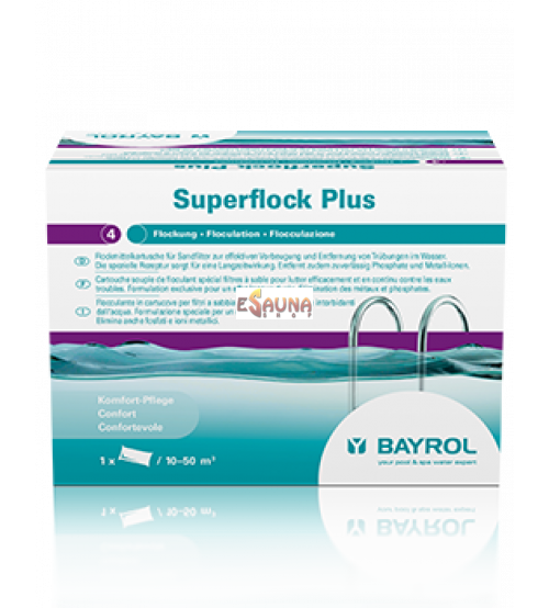 Water clarifier means Superflock, 1 kg