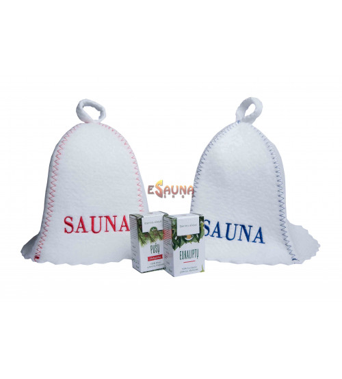 "Gift set ""Sauna for two"""