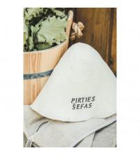 Saunový klobúk - Pirties% u0160efas