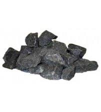 Габбро диабаз камни 20 кг, 6 - 15 цм