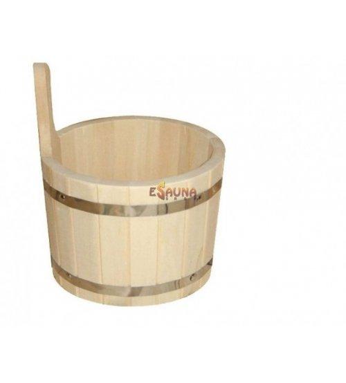 Wooden pail, 3l.