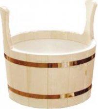 Wooden pail, 15l.