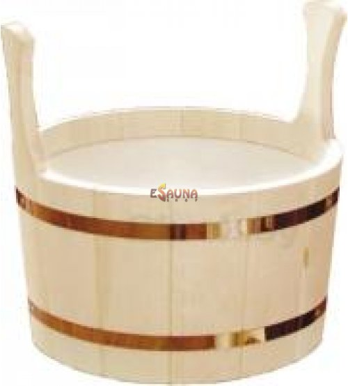 Wooden pail, 7l.