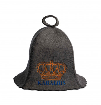Vannas cepure KARALIUS..