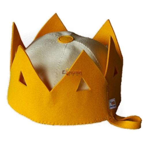 Шапка за сауна - корона