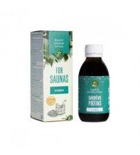 LE MÉLANGE D'EXTRAITS POUR SAUNAS: À l'huile essentielle d'eucalyptus. 150 ml