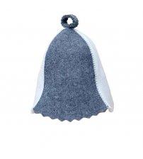 Pirties kepurė  dvispalvės (balta/pilka)