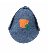 Pirties kepurė - Seklys  (pilka)