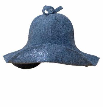 Pirties kepurė su gėle ..