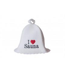 Pirties kepurė  - I love sauna