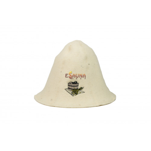 Saunovací klobúk - vedro a metla