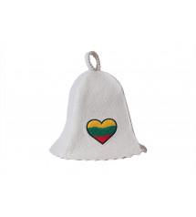 Pirties kepurė  - lietuviška širdelė