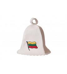 Pirties kepurė  - Lietuvos vėliava