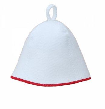 Pirties kepurė su raudo..