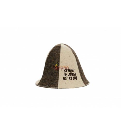 Kepurė su užrašu