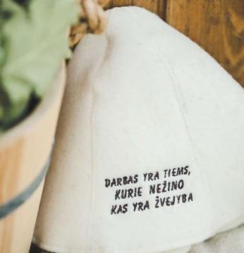 Pirts cepure - zvejniek..