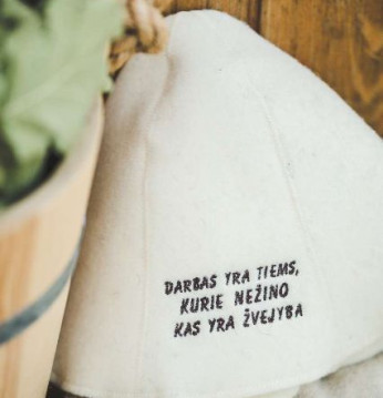 Sauna hat - For fiskere..
