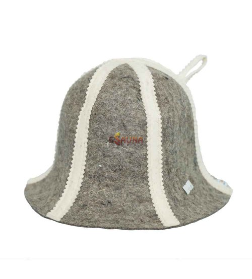 Sombrero de lana con rayas