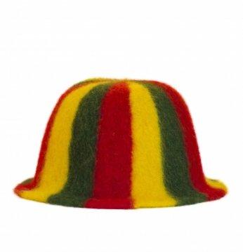 Kepurė, lietuviškų spal..