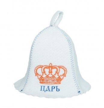 Cappello da sauna ЦАРЬ..
