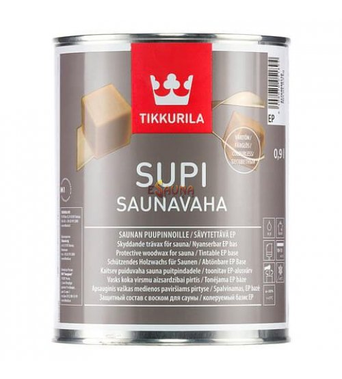 Tikkurila Supi wachs für sauna schutz 0.9l