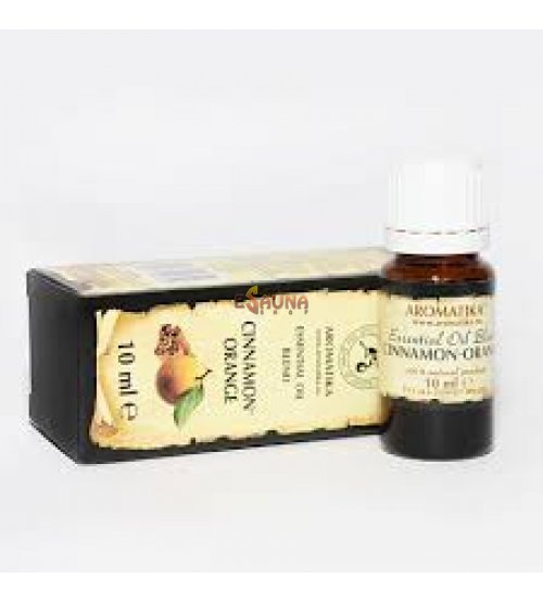 "Essential Oil Blend ""CINAMON - ORANGE"" 10ml."