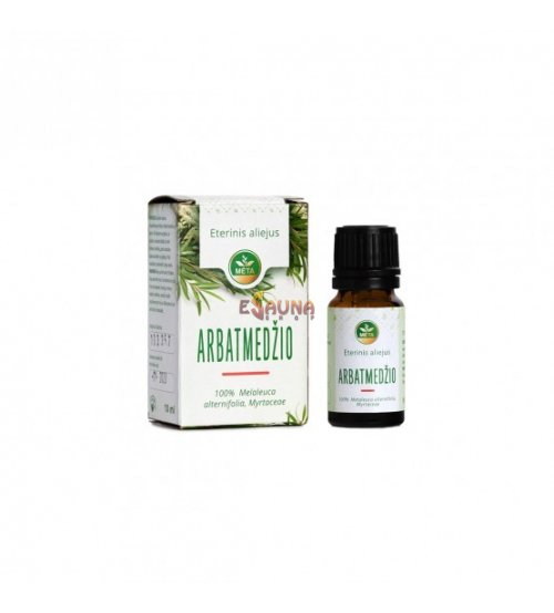 Tea tree etherische olie, 10 ml