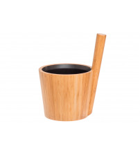 Sauna bucket in ecological bamboo RENTO