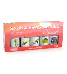 Sauflex sauna essential oil collection 5x15ml, Sunset