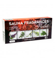 Sauflex sauna essential oil collection 5x15ml, Herbal