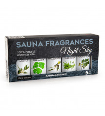 Sauflex sauna essential oil collection 5x15ml, NightSky