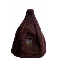 Linen cap BROWN