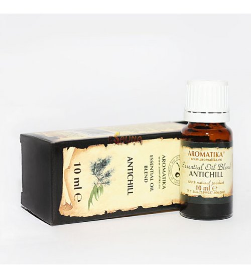 "Essential Oil Blend ""ANTICHILL"" 10ml."
