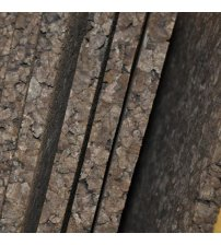 Thermomaterial aus Kork