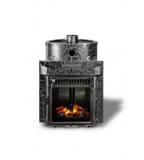 Woodburning heater Feringer Maliutka Screen Antik, Closed cage