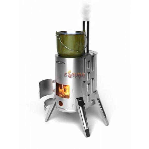 Termofor Duplet-1 Inox kieto kuro krosnelė