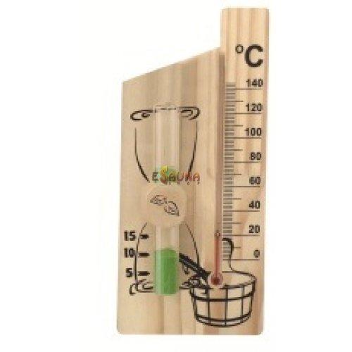 Smėlio laikrodis - spiritinis termometras