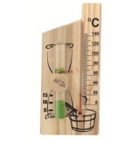 Smėlio laikrodis - termometras