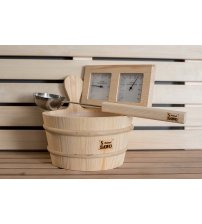 Sawo sauna accesories set 3 in 1 (Pine)