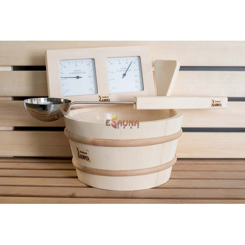 Sawo sauna accesories set 3 in 1 (Aspen)