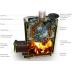 TMF Geyzer XXL 2017 Inox Vitra in Woodburning heaters on Esaunashop.com online sauna store